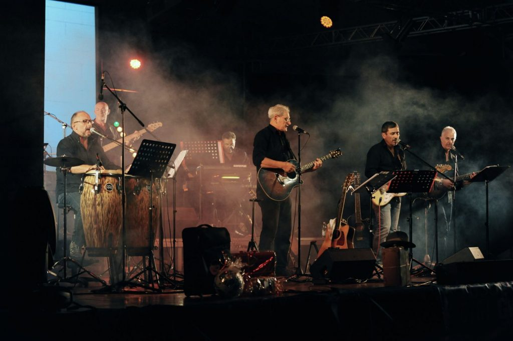 il gruppo dei D.O.C. in concerto